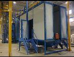 Tryskací zařízení pro povrchové úpravy materiálů, předúpravy povrchů chemickým odmašťováním