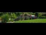 Kompletní realizace okrasných zahrad, zahradní jezírka, údržba zeleně