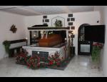 Pohřební služby, kremace, církevní obřady, balzamace a estetické úpravy zesnulých