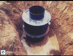 Kruhov� a hranat� plastov� septiky k p�ed�i��ov�n� odpadn� vody