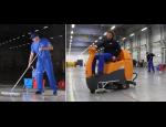 Úklid nákupních center a průmyslových areálů, mytí a čištění eskalátorů