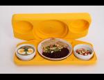 Tabletové systémy, pohodlný způsob stravování, jednoduchá přeprava a konzumace jídla