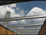Kalené a nekalené schody z pochozího skla, světlíky, pochozí prosklení střech a teras