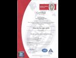 Výstupní kontrola kvality součástí po tepelném zpracování, certifikace ISO