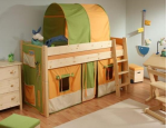 Obývací a dětské pokoje, bytové doplňky, poradenství a služby bytového architekta