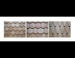 Dřevěné řezané a štípané šindele, kvalitní střešní krytina pro krmítka, schránky nebo zahradní domky