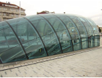 Sklenářství a sklenářské práce Ostrava, skleněné střechy a stěny, skleněné obklady