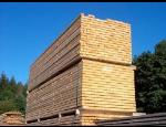 Vysušené hoblované řezivo Jihlava - palubky, dřevěné plotovky, hoblovaná prkna