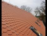 Pokrývačské práce, pokládka střešní krytiny a doplňků, rekonstrukce střech