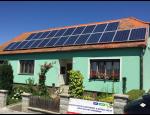 Dotační program Nová zelená úsporám podporuje výstavbu fotovoltaických elektráren
