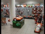 Prodej a servis zahradní techniky Dolmar a Stiga v prodejně ve Zlíně