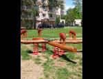 Dětské domečky, skluzavky, prolézačky a dřevěné houpačky z masivu