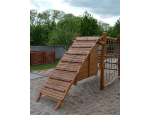 Dřevěné herní prvky na dětská hřiště, relaxační zóny, zahrady MŠ