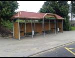Autobusové zastávky a čekárny včetně příslušenství a vybavení, výroba