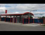 Montované stavby autoumýváren na klíč, technologie čištění a mytí vozidel