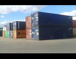 Pronájem mobilních námořních ocelových kontejnerů ke skladování zboží