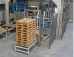Paletizační technika, automatizace produkčních provozů a balicích linek