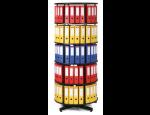 Otočné archivační skříně na pořadače do kanceláří, archivů, skladů