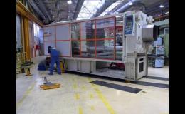 Stěhování strojů METALLURGICAL & STEEL SERVICE
