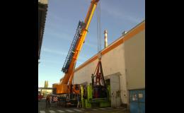 Demontáž a stěhování strojních zařízení
