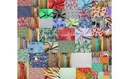 Metrový textil - dekorační bavlněné látky