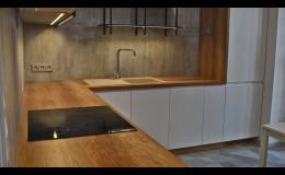 Zhotovení kuchyňských sestav přesně na míru Zlín, Olomouc