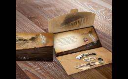 Kreativní grafika - návrh, zpracování v tiskárně KLEINWÄCHTER