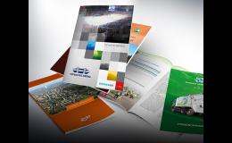 Kreativní grafika a kvalitní zpracování - výroční zprávy, oznámení