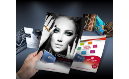 Digitální tisk vizitek, letáků, brožur, zpravodajů, oznámení, plakátů