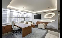 Realizace kanceláří na klíč - návrh, výroba, instalace