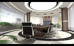 Návrhy, výroba nábytku do zasedacích místností