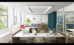 Zakázková výroba kancelářského nábytku - Woodtech Brno
