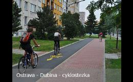 Výstavba cyklostezek - Moravskoslezský kraj