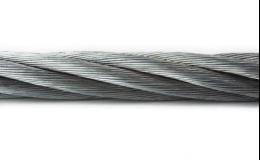 Pozinkované ocelové lano v PVC opláštění