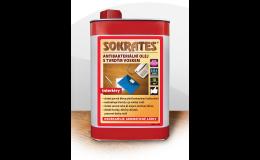 Antibakteriální olej s tvrdým voskem Sokrates - ochrana dřeva
