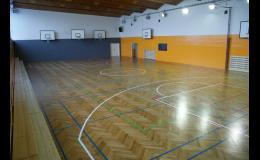 Ochodní akademie Ostrava pronajímá tělocvičnu