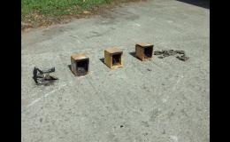 Přípravky Bochemit ke snížení reakce dřeva na oheň