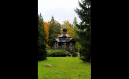 Překrásná příroda horských lázních v Jeseníkách