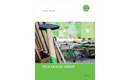 Kvalitní nářadí RECA v e-shopu na webu reca.cz
