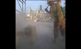 Tryskání povrchů, fasád, zdiva, schodišť - Praha
