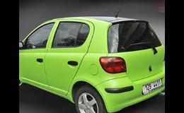Bezpečnostní fólie na skla automobilů CARTINT Zlín
