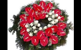 Smuteční vazby - Pohřební ústav EXCELENT Sokolov