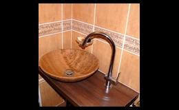 Nové koupelny v rodinných domech OKAL