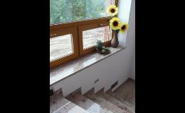 Výroba kamenných parapetů na zakázku