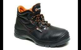 Pohodlné bezpečnostní boty do průmyslových provozů