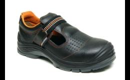 Kotníková kožená bezpečnostní obuv Třebíč
