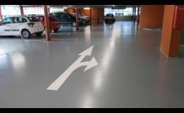 Betonové podlahy do průmyslových a komerčních objektů, garáží