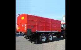 Přepravníky, zemědělská technika - dodání a servis
