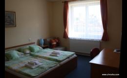 Komfortní ubytování v hotelu U Hrocha Škrdlovice