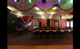 Společenský sál v hotelu U Hrocha Škrdlovice Vysočina